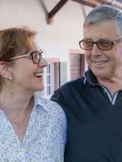 Adolf und Tina Rüdlin