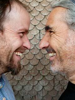 Dieter Hierholzer und Daniel Steiger