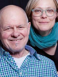 Ulrike Derndinger und Heinz Siebold