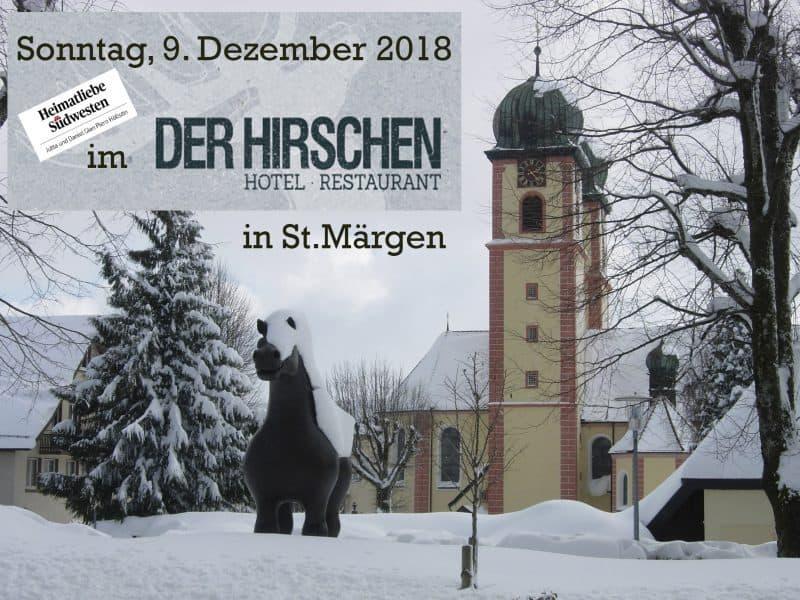 """""""Heimatliebe Südwesten""""  noch einmal zu Gast in St. Märgen"""