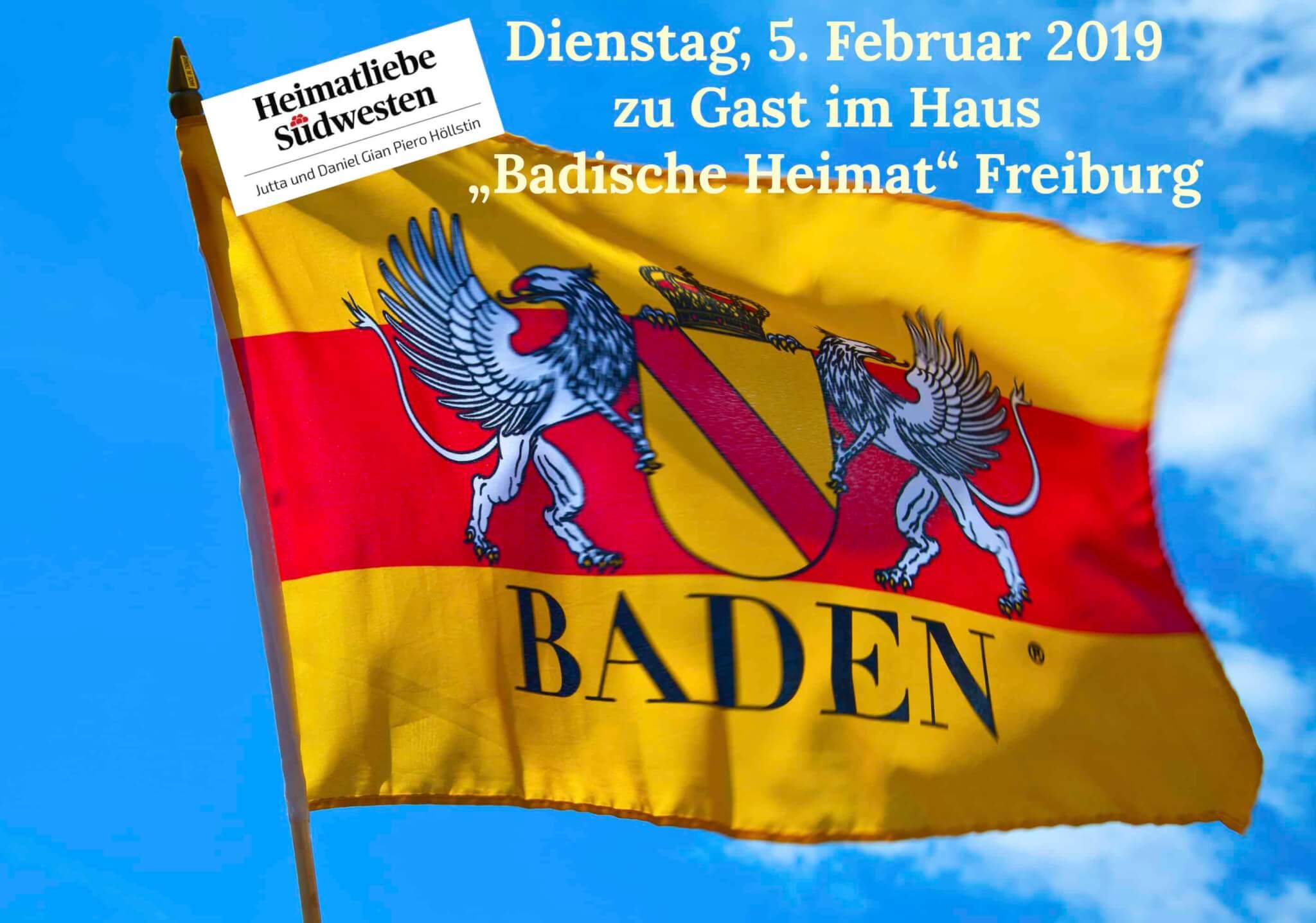 Zu Gast beim Landesverein  Badische Heimat e.V. in Freiburg