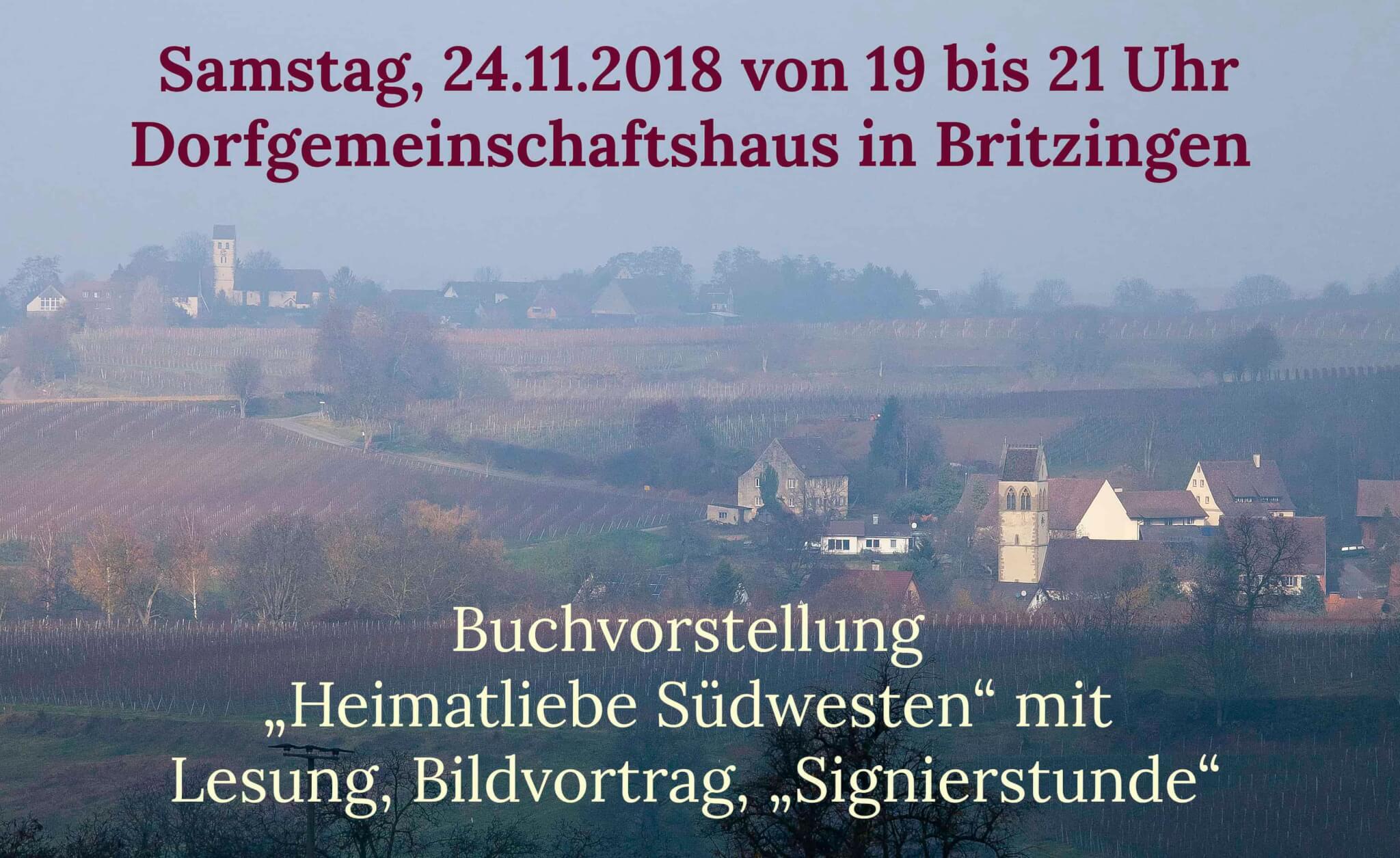 """""""Heimatliebe Südwesten""""  zu Gast bei der Dorfladengenossenschaft  in Müllheim-Britzingen"""