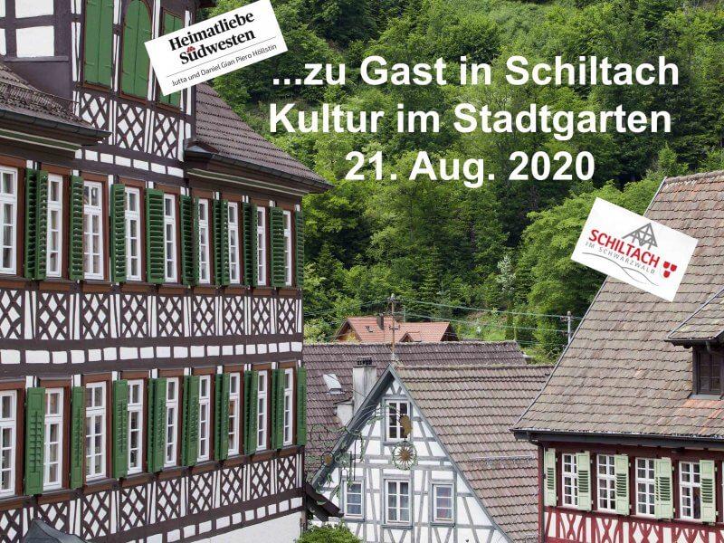 Zu Gast in Schiltach – Kultur im Stadtgarten